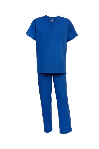 Scrub Shop Premium Scrub Set Blue